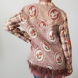 ARATTA Silent Journey Embroidered Top Large